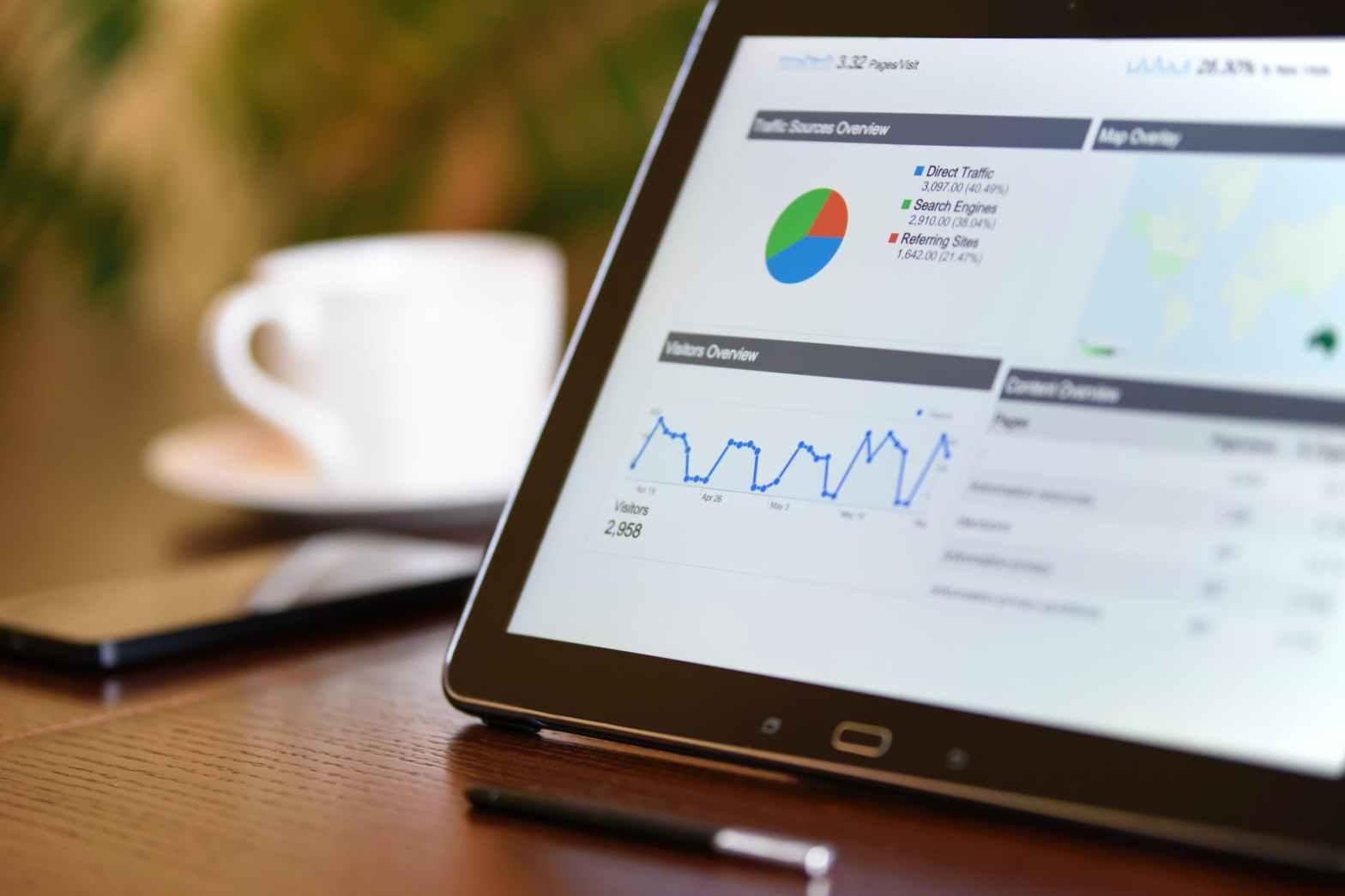 improve your seo: google analytics page