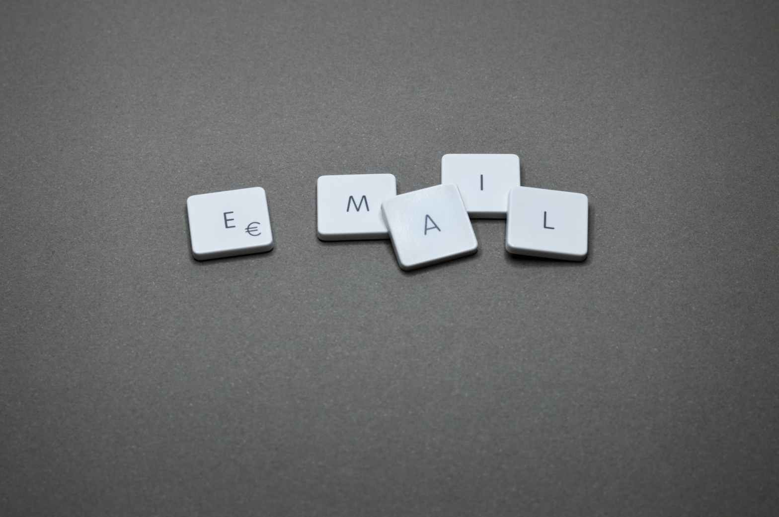 email marketing spelled in scrabble letters